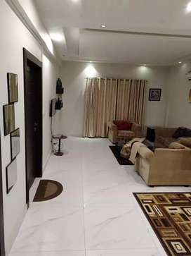 1bed room attach bathfurnished falt4rent in height2ext bahria town rwp