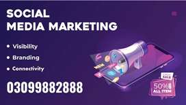 Facebook Marketing | Social Media Marketing | Branded Sms | WhatsApp