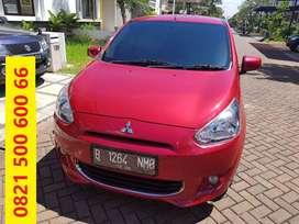BAGUS BANGET - Mitsubishi Mirage EXCEED 1200 cc Matic 2012 Merah