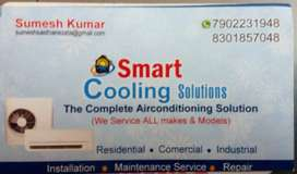 We service ALL makes and models of  air conditioning systems (split ac