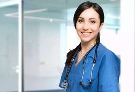 Urgent Female Staff Required For Medical Nurses