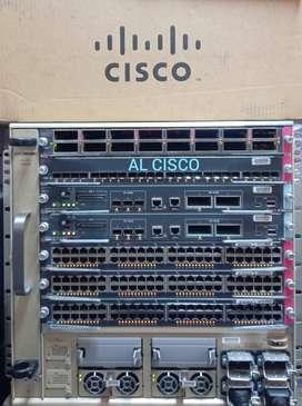 Cisco Switch Catalyst 6807 Series WS-C6807-XL 174x GE & 20x 10G