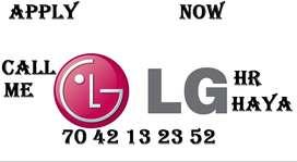 LG Company full time job store keeper helper supervisor