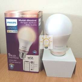 Philips Lampu Smart Wi-Fi LED 9W - Tunable White (Putih)