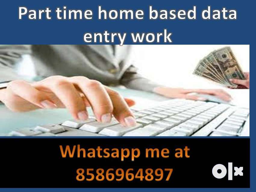 Offline Data Entry Job, part-time job,typing Copy Paste Job JOIN now 0