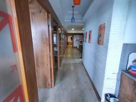 1800 Sqft Fully Furnished Office Available On Rent .