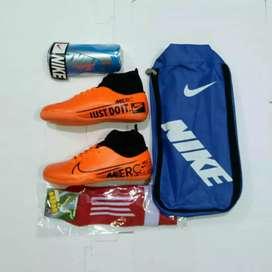 Sepatu Anak Nike Mercurial Orens