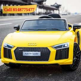 New Audi R8 Spyder Ride on Toy Car for Kids (Metallic Painted)