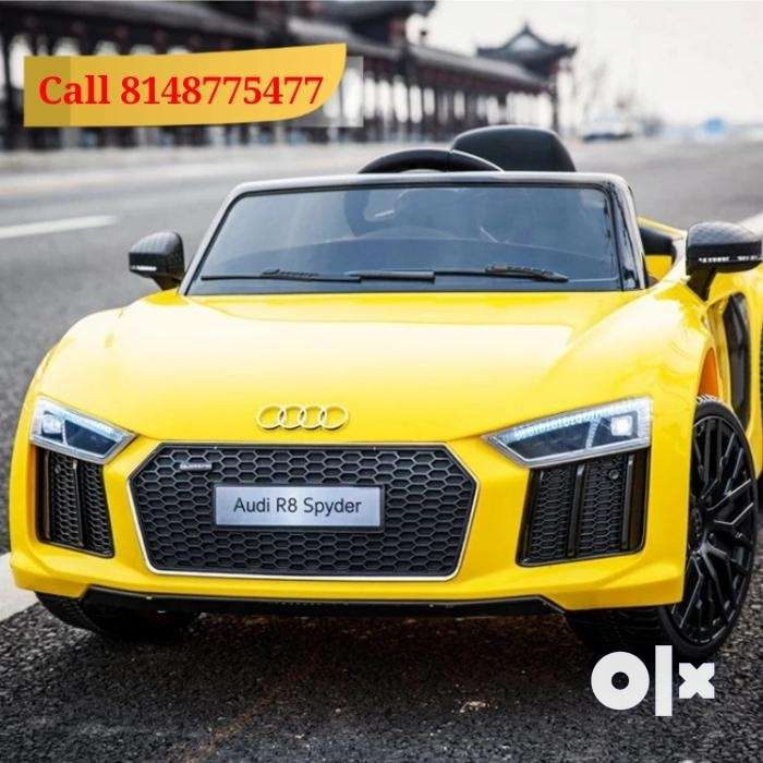 New Audi R8 Spyder Ride on Toy Car for Kids (Metallic Painted) 0