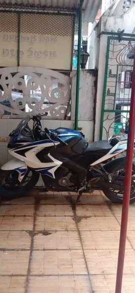 Sport bike rs 200 pulsar