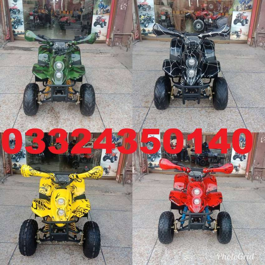 High Quality Atv Quad 4 Wheels  Collection Online Deliver in all Pak
