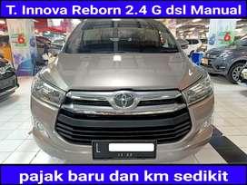T.kijang Innova Reborn 2.4 G Diesel MANUAL 2017 KM rendah