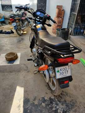 Suzuki gd110 brand new condition with extra tube less tyre
