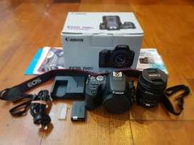 Canon Eos 200D Istimewa, Touchscreen and Wifi