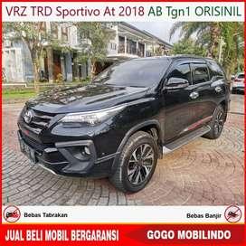Fortuner VRZ TRD Sportivo At 2018 AB Tgn1 ISTIMEWA Bisa Kredit