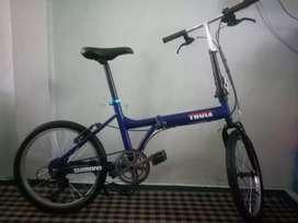 jual sepeda lipat merk Aleoca