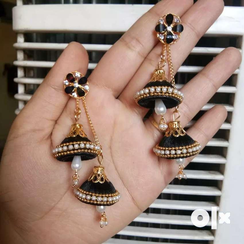 Self made Jhumka earrings 0