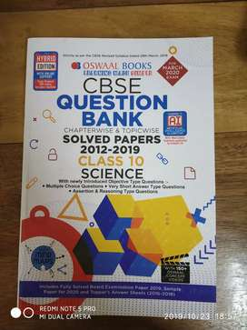 Oswaal Class 10 CBSE Science