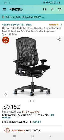 Orignal Herman miller chair neat condition like new (used chairs)