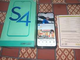 infinix s4 in new condition with 8 month 20 days waranty