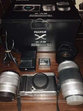 FUJIFILM XA-2 DOUBLE LENS
