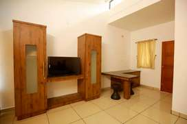 Fully furnished 1 bhk house 2 bachelor only at kakkanad