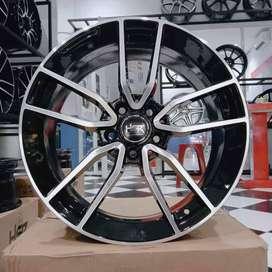 pelek mobil mercy ring 18 hsr nanga warna black polish
