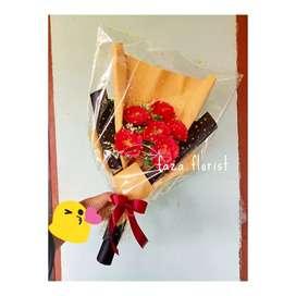 buket bunga kamelia