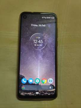 Moto one action 4gb/128gb just 4 months old with bill