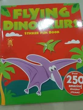 Buku Flying Dinosaurs Sticker Fun Book