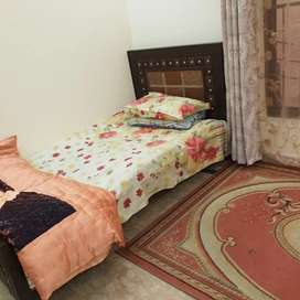Two single  beds as like new urgently sale