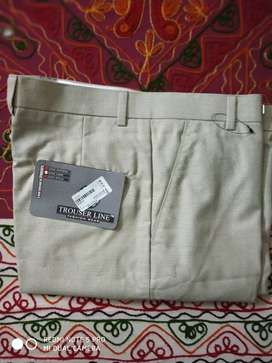 Cream Formal Trouser at low price