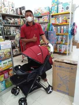 Stroller BabyDoes Nexuz R+ kereta dorong baby 2 arah dorongan/jogja