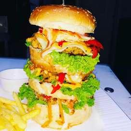 Fried chicken/Broasted maker, Sandwich/Burger maker.