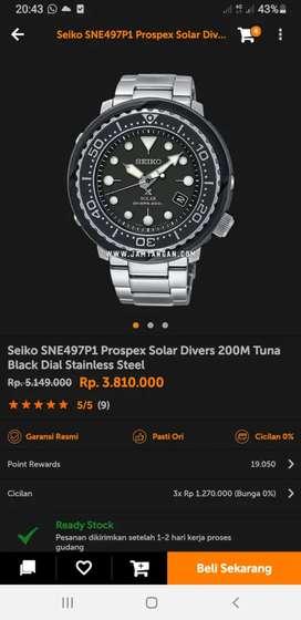 Seiko SNE497P1 Prospex SOLAR