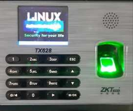 Zkteco Tx628 Authentication error or restart in Linux logo