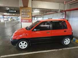 Mobil Daihatsu Ceria 2003 super irit 800 cc pajak murah 700 rb an