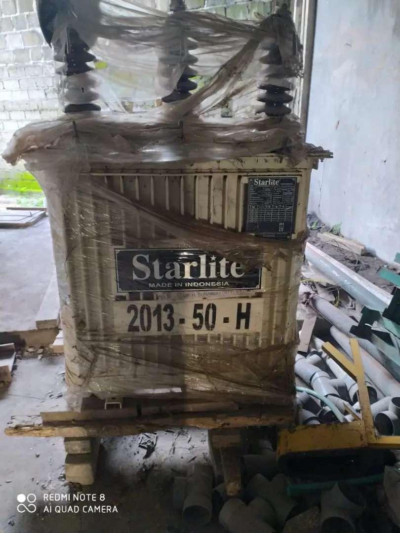Dijual murah Travo Listrik (Transformator Distribusi)  Merk Starlite