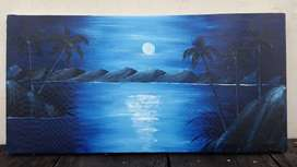 Canvas Oil Painting 24x12