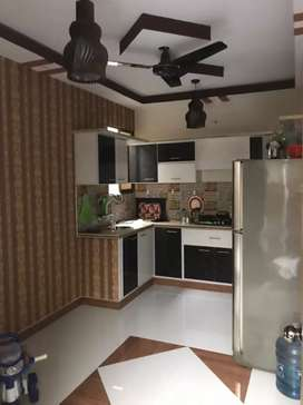 1 bed lounge attached bath American kitchen with roof taires