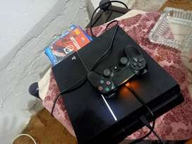 PS 4 sony with game controller