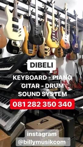 DICARI PIANO - KEYBOARD - GITAR - ALAT BAND - BORONGAN SOUND SYSTEM