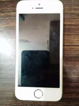 Iphone 5s 16gb gold good condition