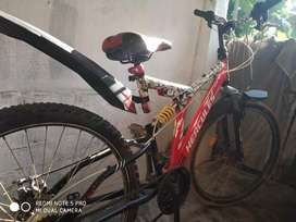 Cycle is in good condition and modified