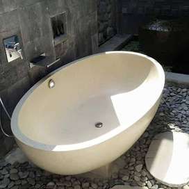 bak mandi bathtub fortable tipe oval