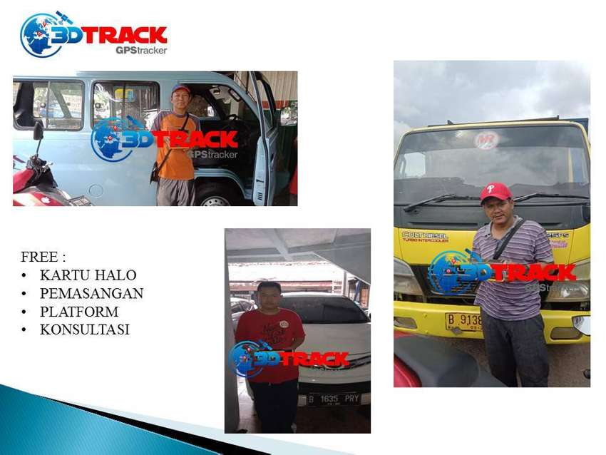 GPS TRACKER PELACAK MOTOR 24 JAM + PASANG *3DTRACK