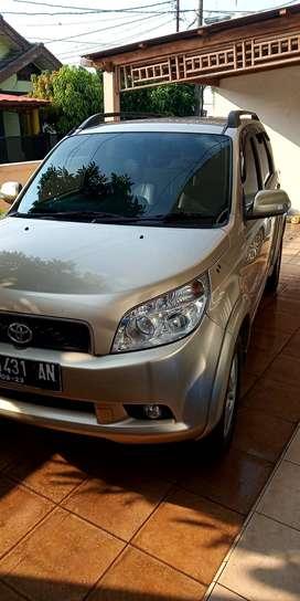 Toyota Rush G 2008 Manual pajak Agt 2022 siap pakai