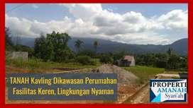 Tanah kavling di Kawasan Perumahan, Fasilitas Keren, Lingkungan Nyaman