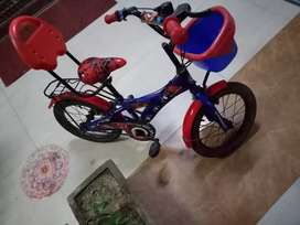 Kid cycle,  Spider Man theme