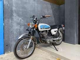 Honda CB 100 mesin GL 125 1982